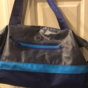 Blue Under Armour bag